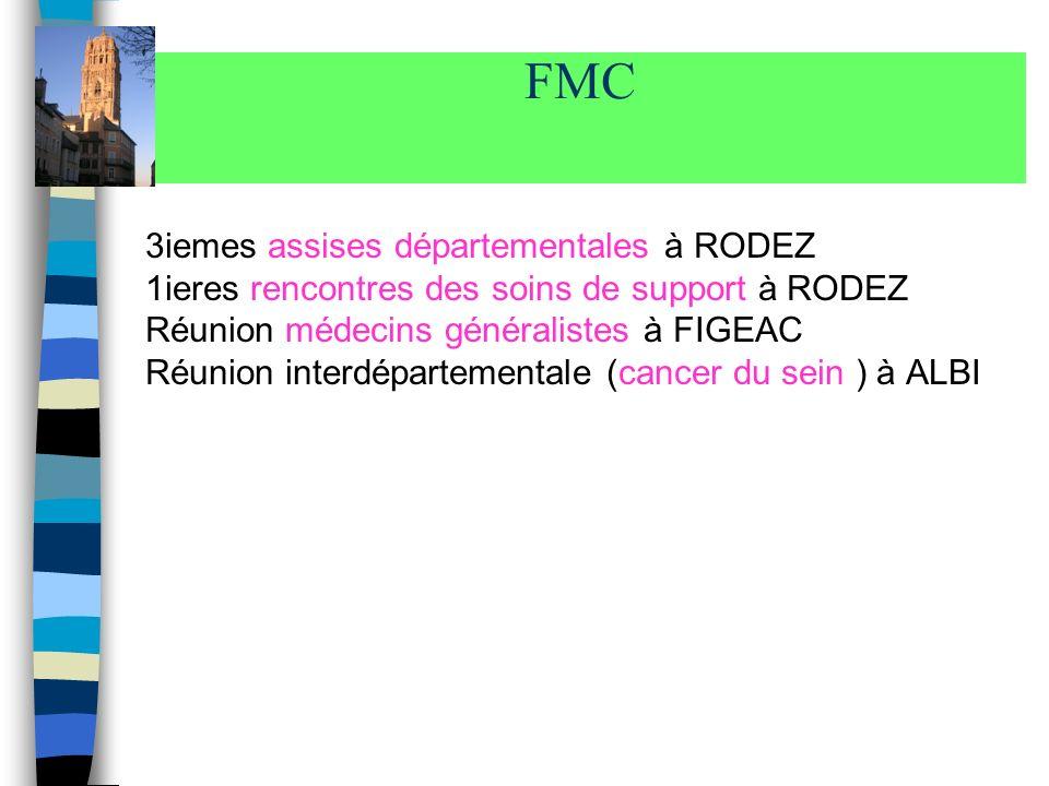 FMC 3iemes assises départementales à RODEZ