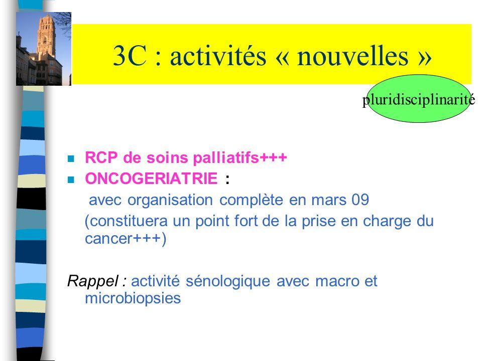 3C : activités « nouvelles »