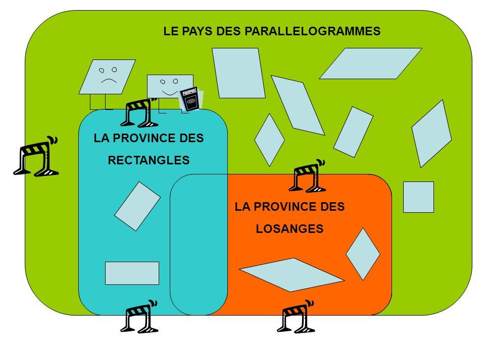 LE PAYS DES PARALLELOGRAMMES