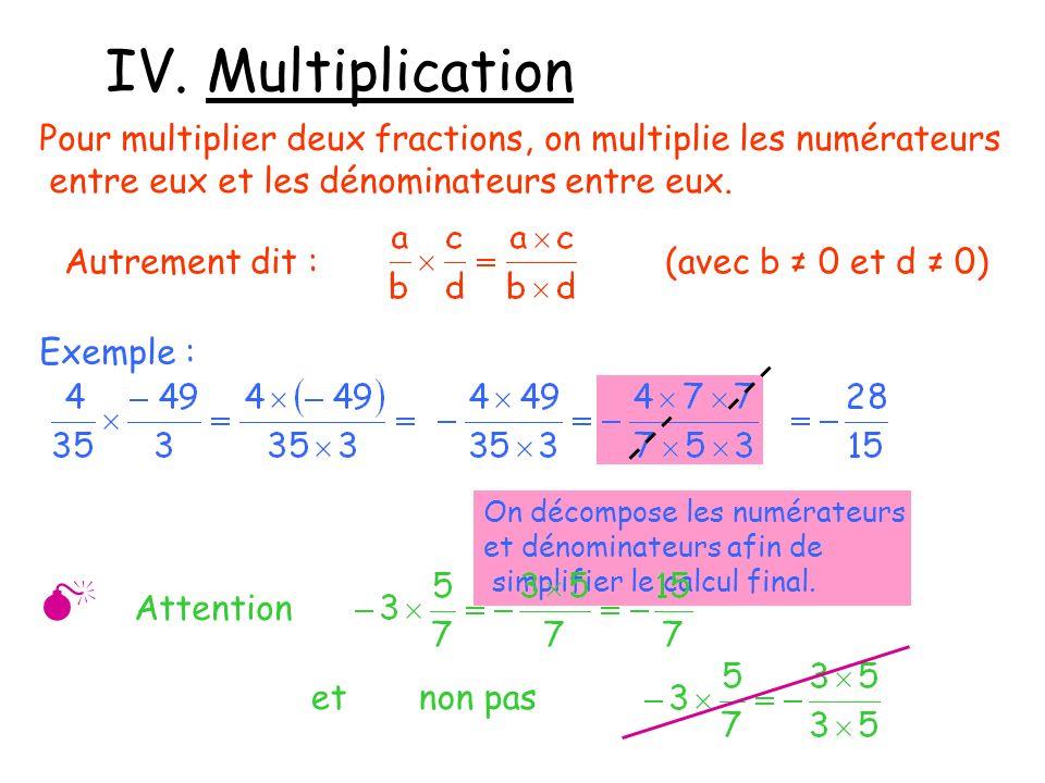 IV. Multiplication  Attention