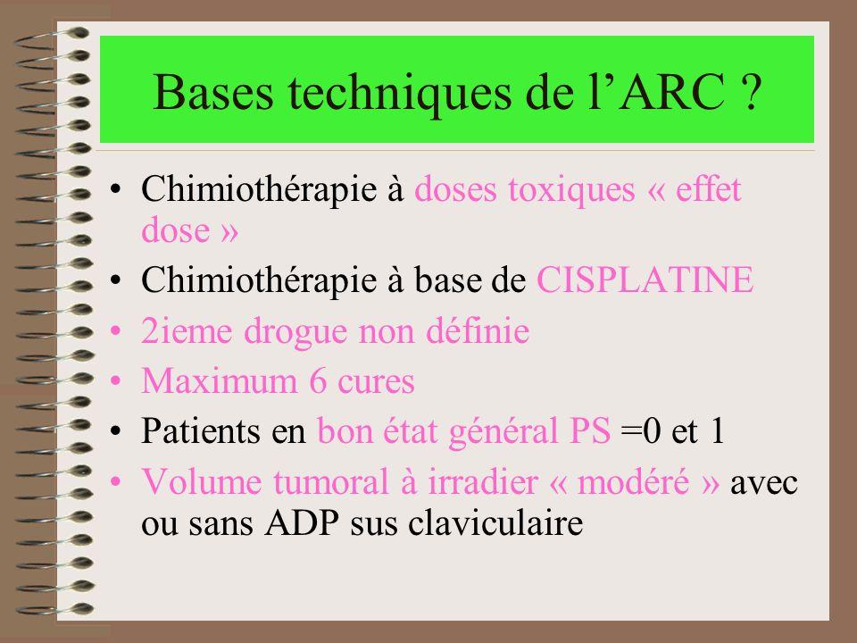 Bases techniques de l'ARC