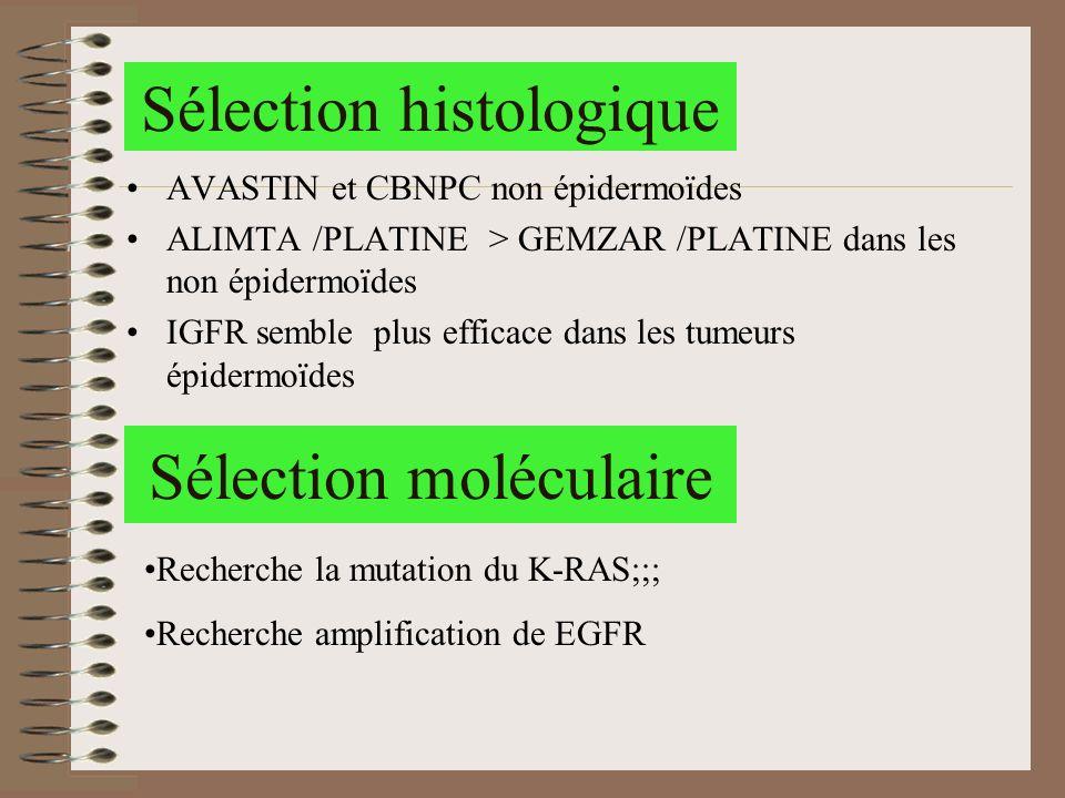 Sélection histologique