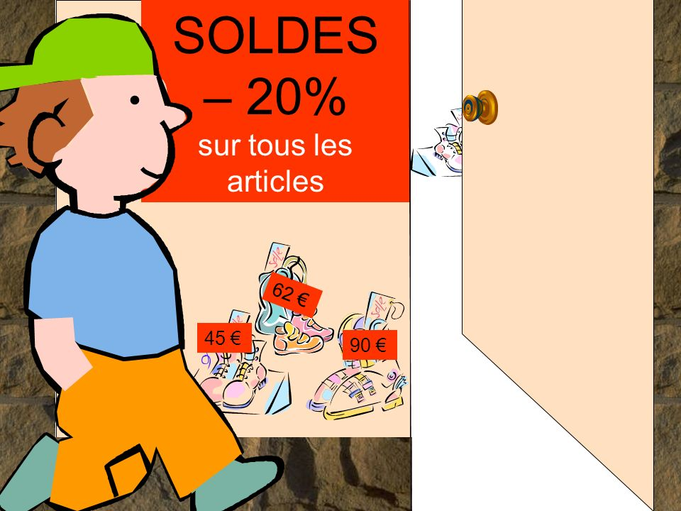 SOLDES – 20% sur tous les articles
