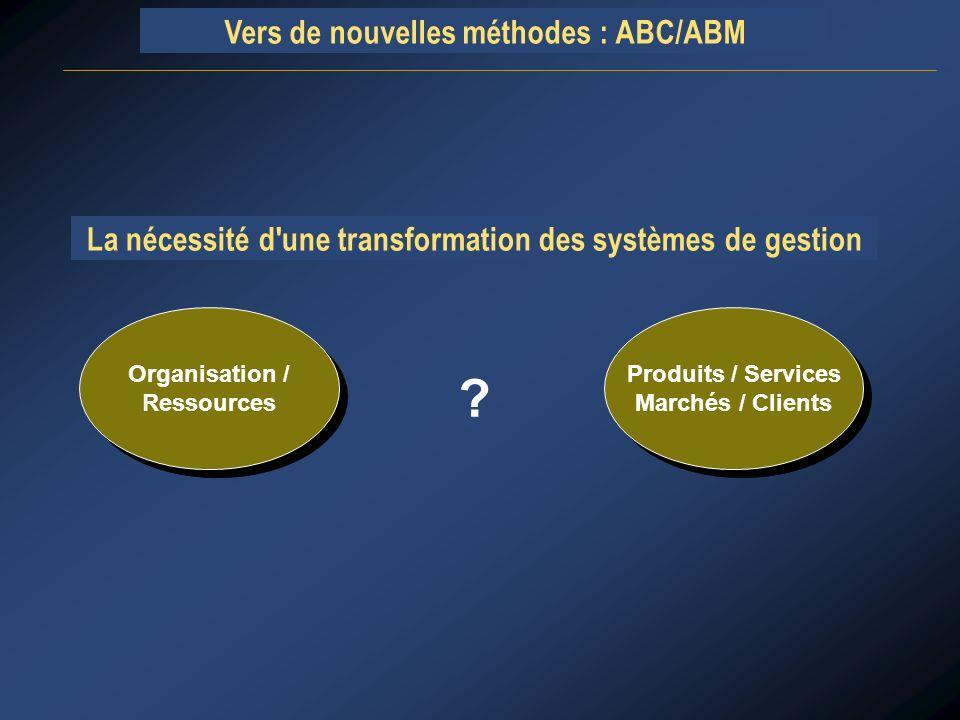 La nécessité d une transformation des systèmes de gestion