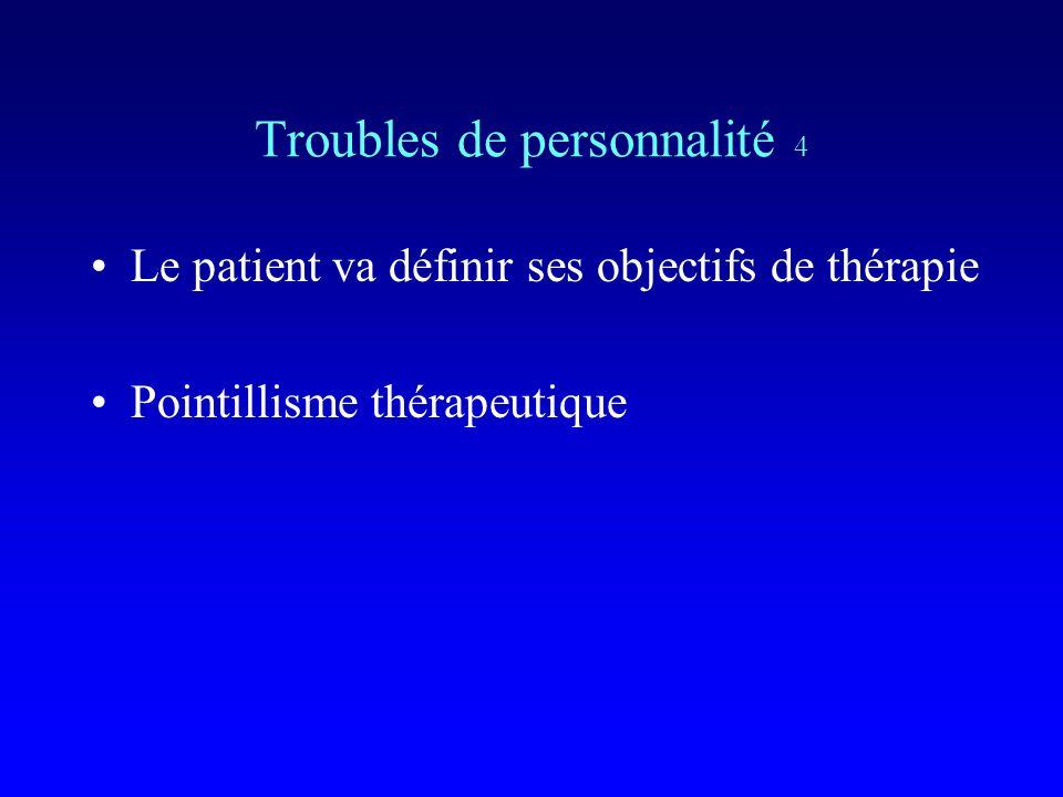 Troubles de personnalité 4