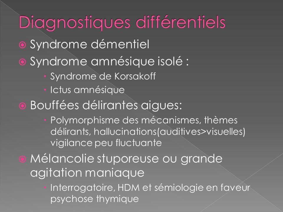 Diagnostiques différentiels