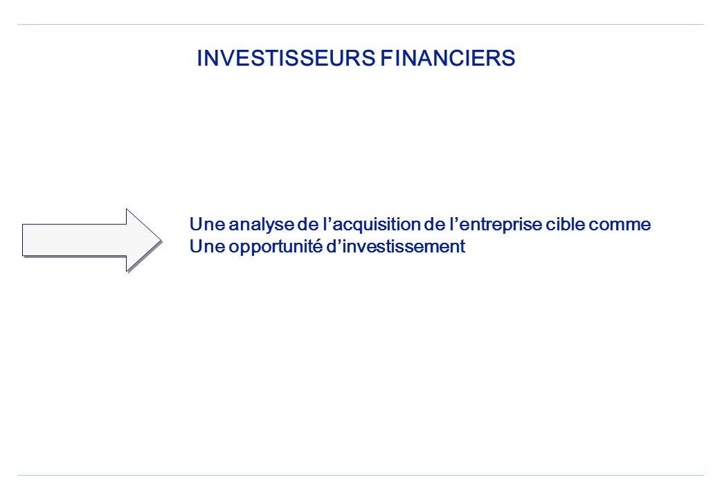 INVESTISSEURS FINANCIERS