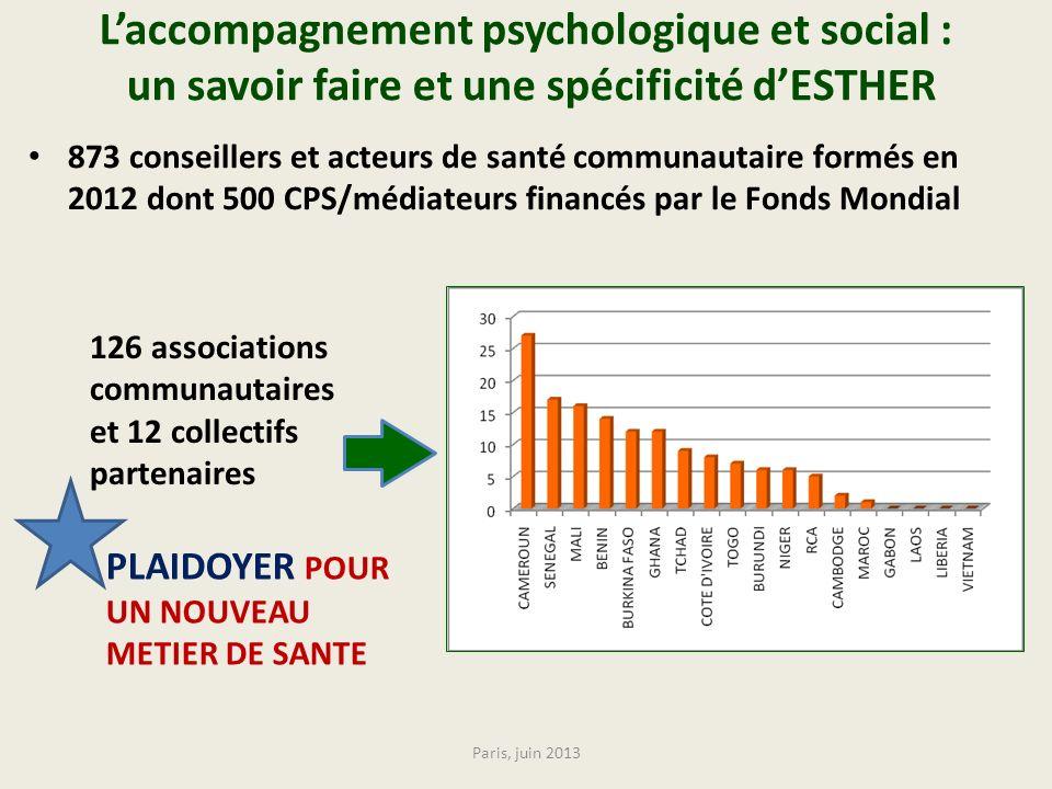 L'accompagnement psychologique et social : un savoir faire et une spécificité d'ESTHER