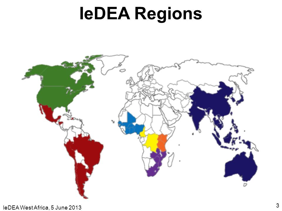 IeDEA Regions IeDEA West Africa, 5 June