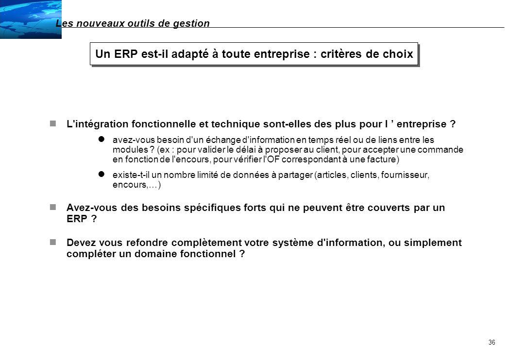 Un ERP est-il adapté à toute entreprise : critères de choix