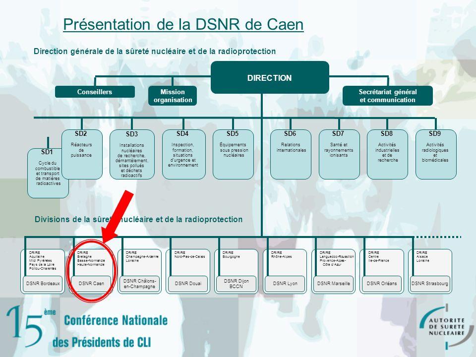 Présentation de la DSNR de Caen