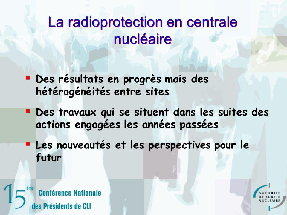 La radioprotection en centrale nucléaire