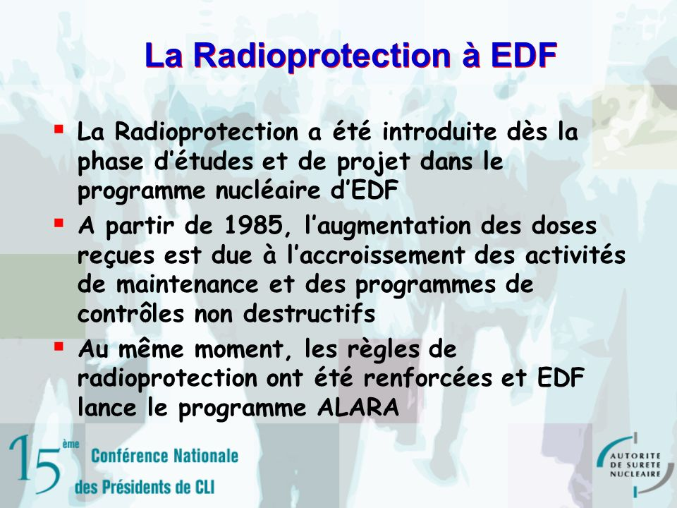 La Radioprotection à EDF
