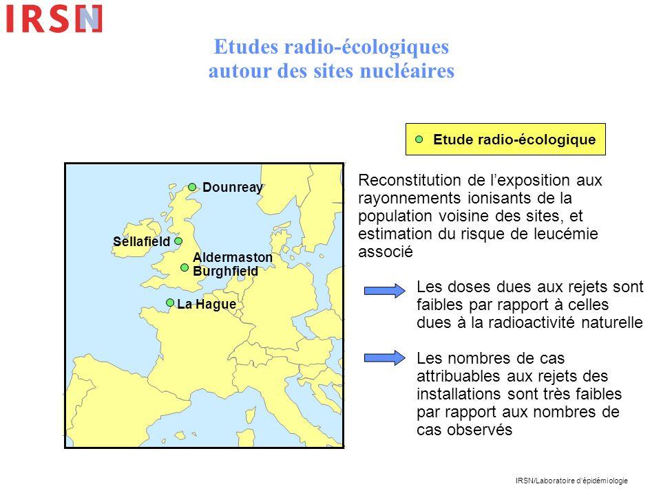 Etudes radio-écologiques autour des sites nucléaires