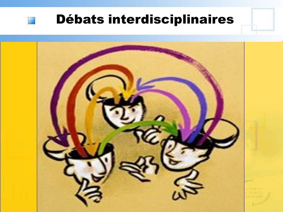 Débats interdisciplinaires