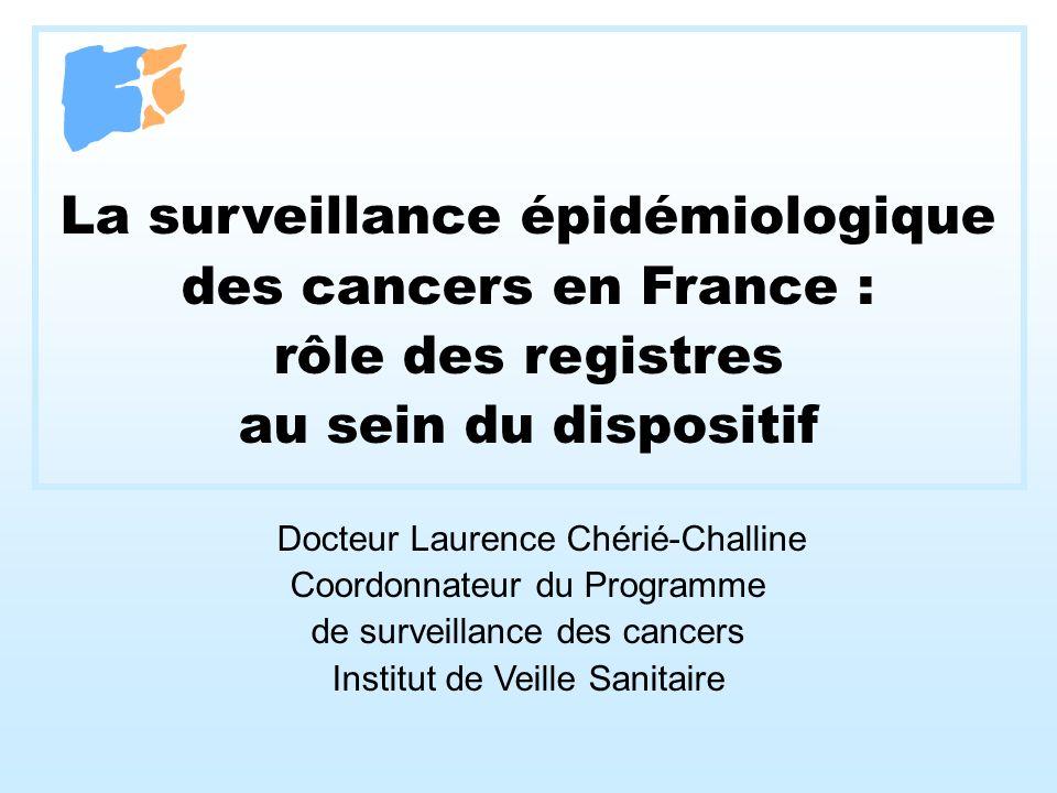 La surveillance épidémiologique