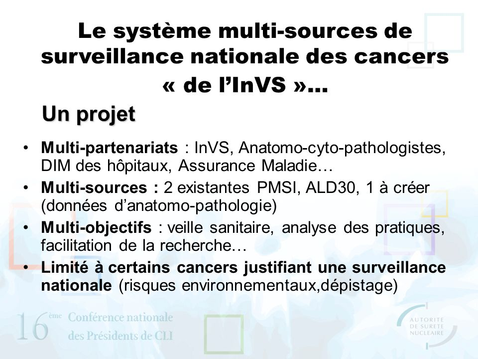 Le système multi-sources de surveillance nationale des cancers
