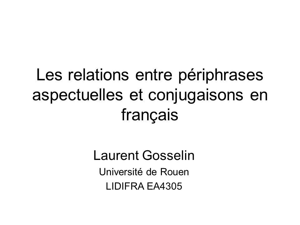 Laurent Gosselin Université de Rouen LIDIFRA EA4305