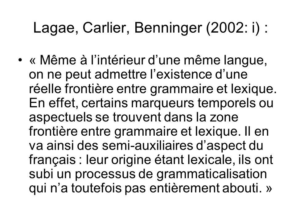 Lagae, Carlier, Benninger (2002: i) :