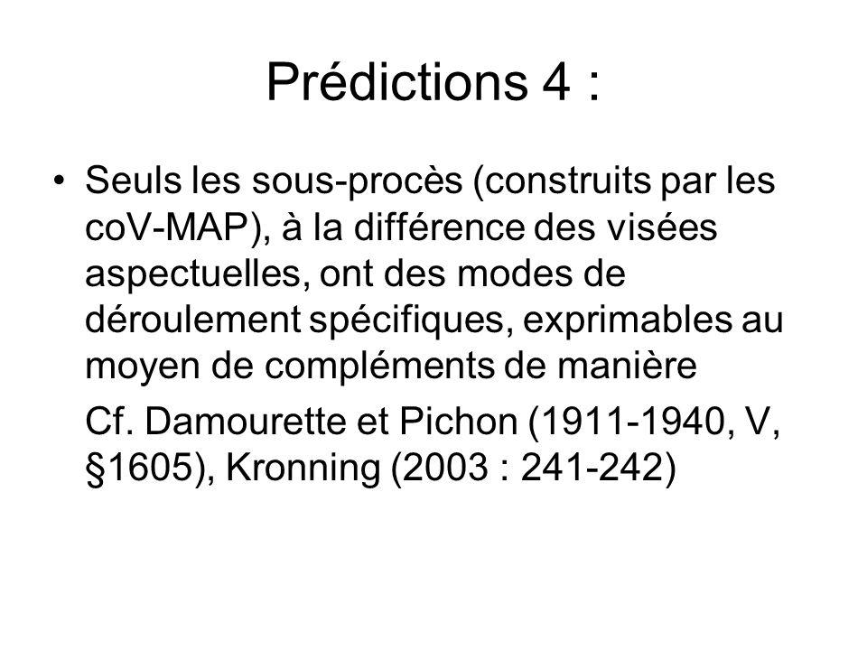 Prédictions 4 :
