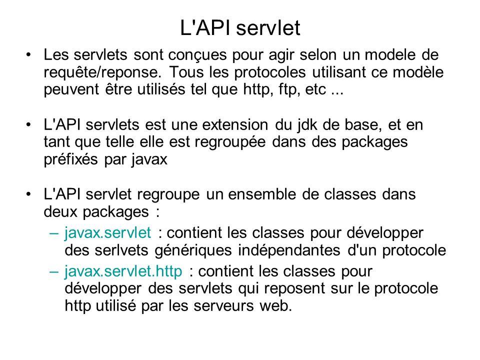 L API servlet