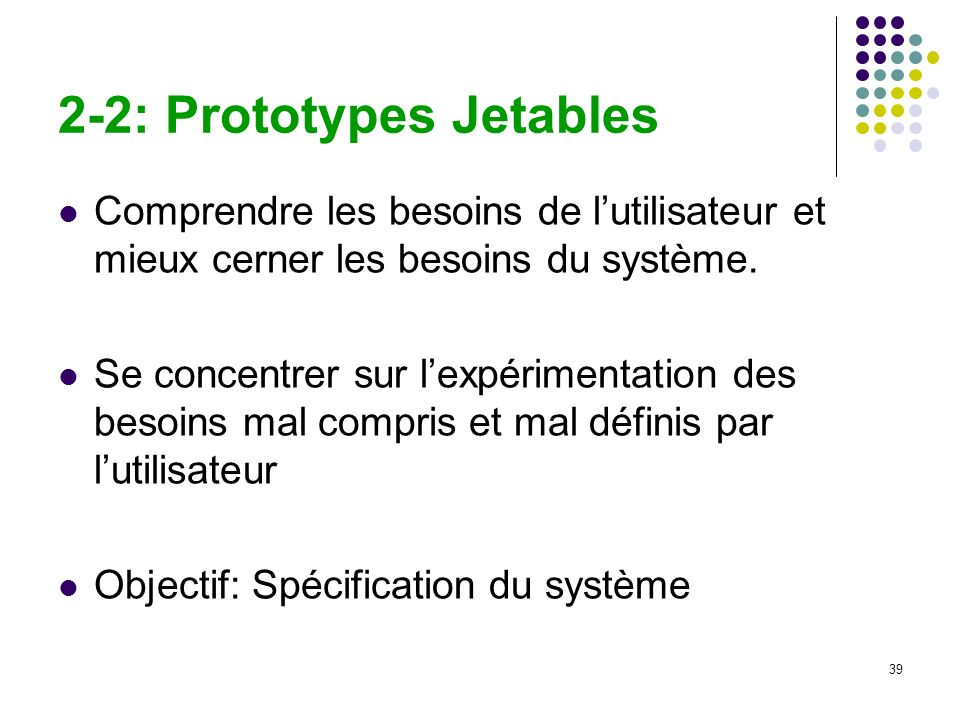 2-2: Prototypes Jetables