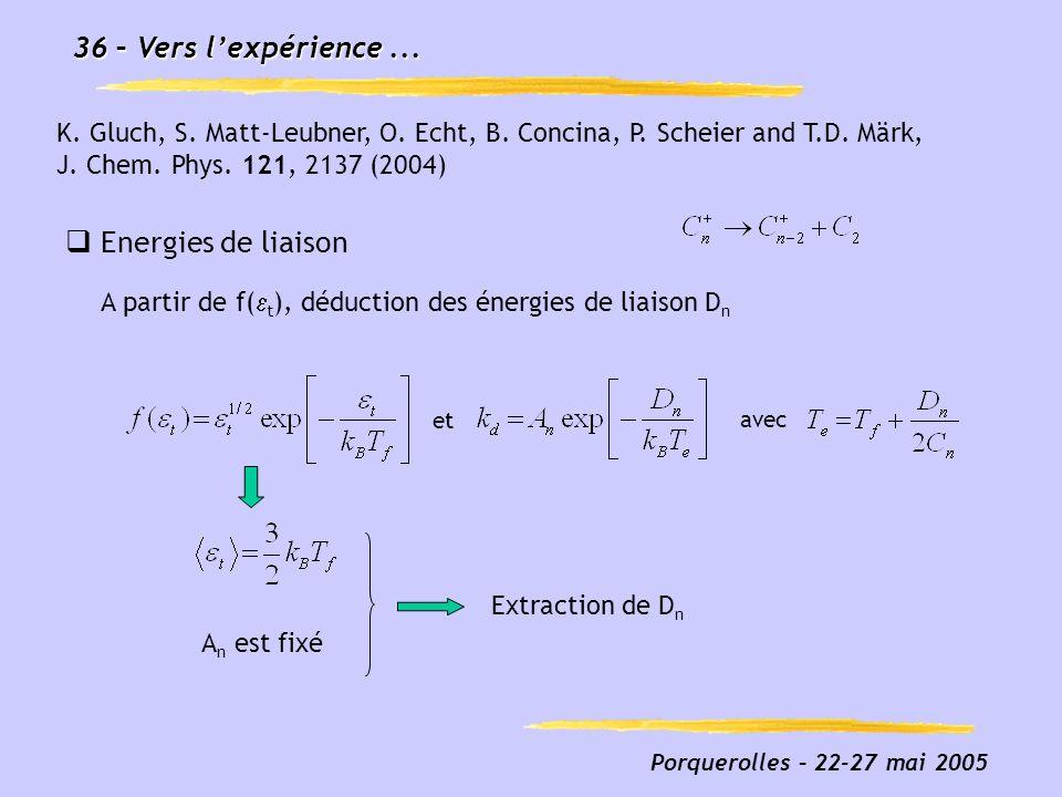 Fig3_prolate_french.eps 36 – Vers l'expérience ... Energies de liaison