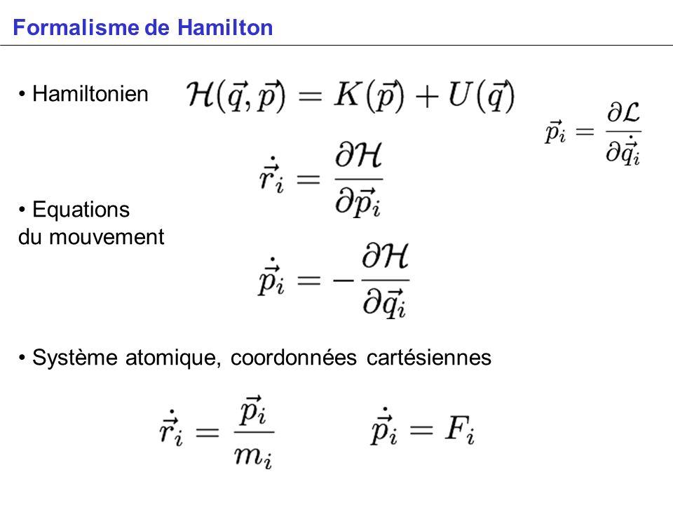 Formalisme de Hamilton