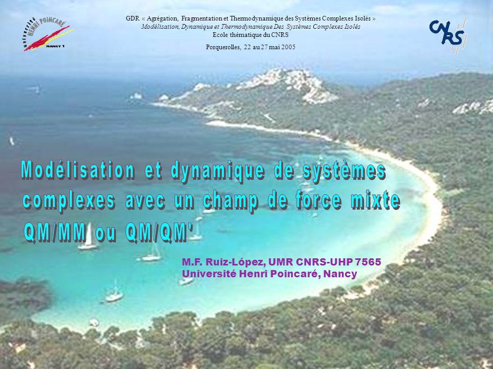 Modélisation et dynamique de systèmes
