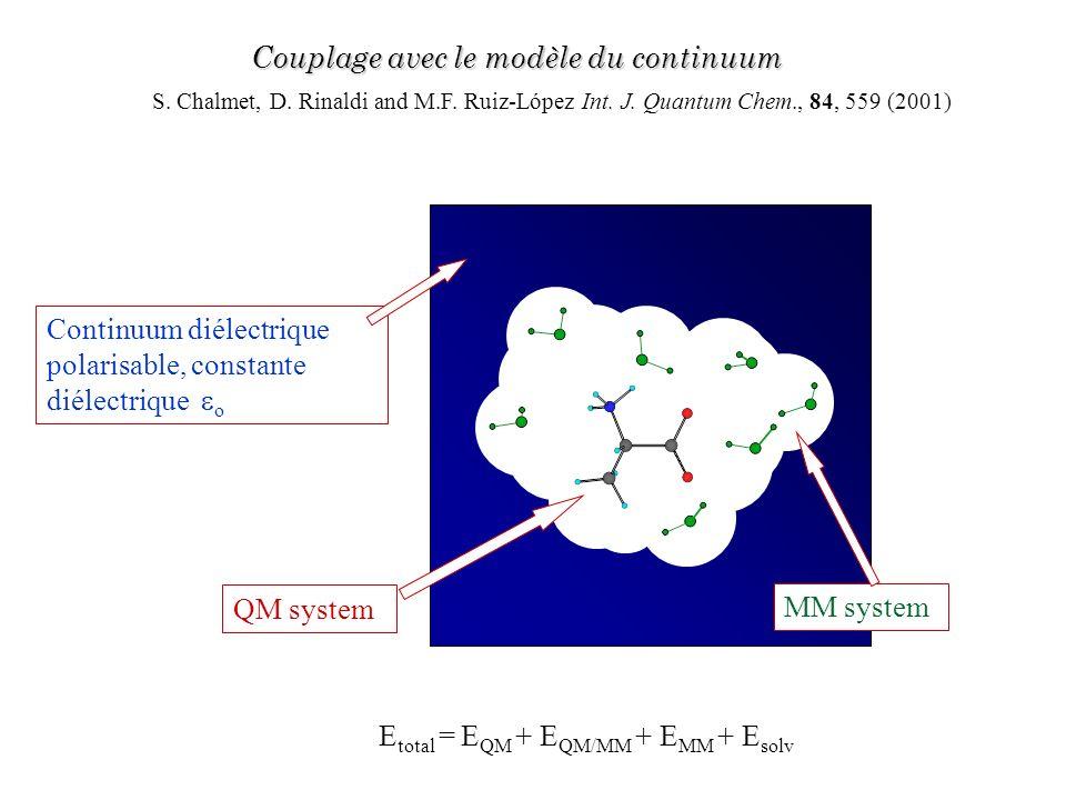Couplage avec le modèle du continuum