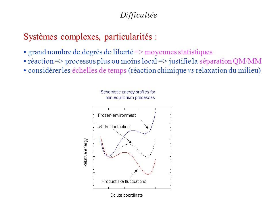Systèmes complexes, particularités :