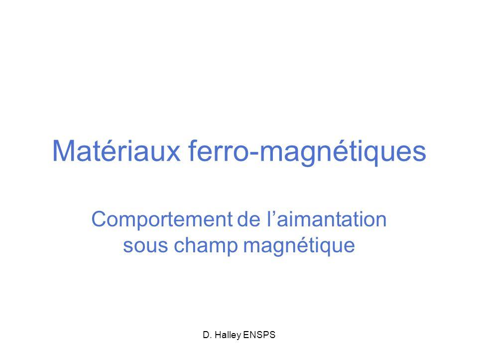 Matériaux ferro-magnétiques