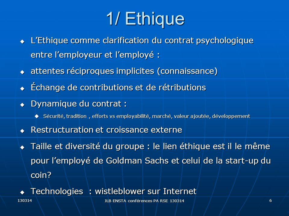 JLB ENSTA conférences PA RSE 130314