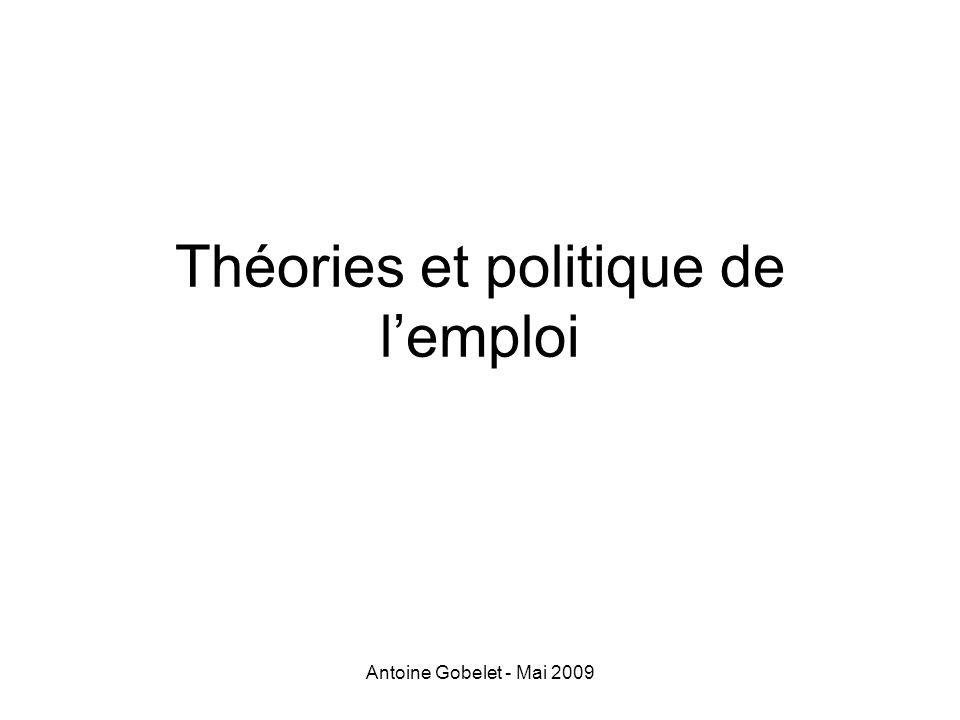 Théories et politique de l'emploi