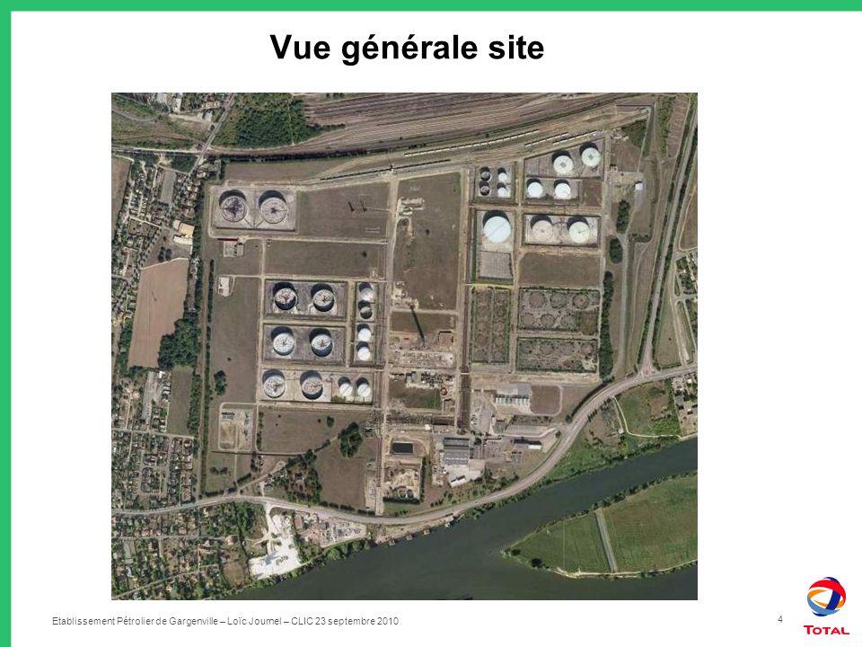Vue générale site Etablissement Pétrolier de Gargenville – Loïc Journel – CLIC 23 septembre 2010