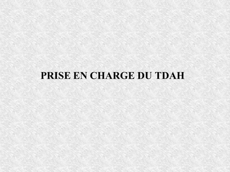 PRISE EN CHARGE DU TDAH