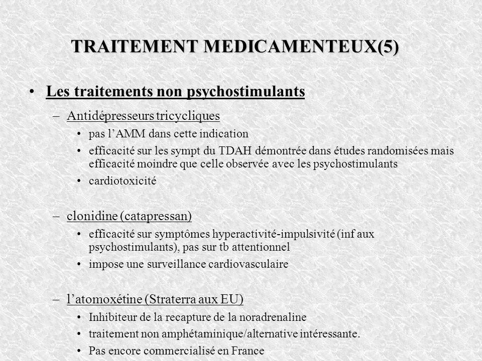 TRAITEMENT MEDICAMENTEUX(5)