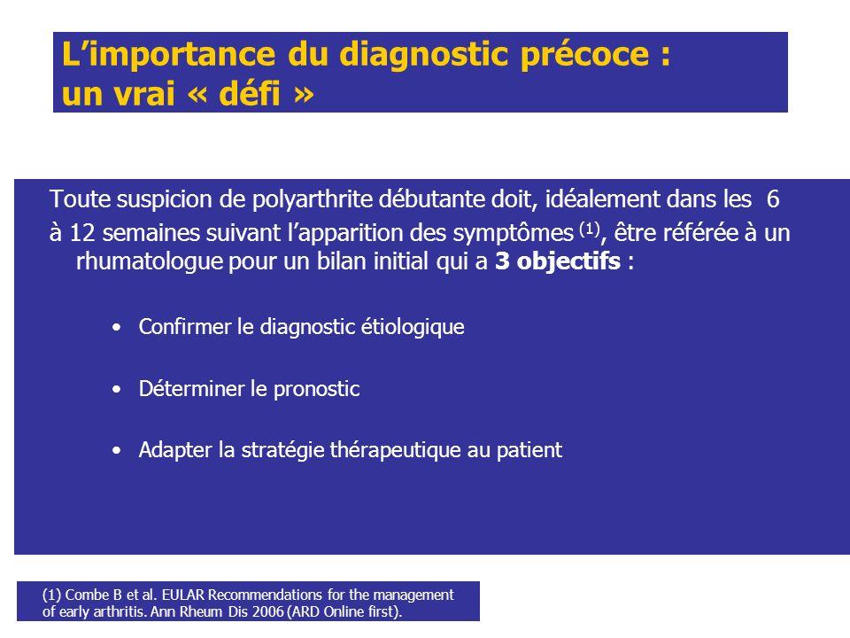 L'importance du diagnostic précoce : un vrai « défi »