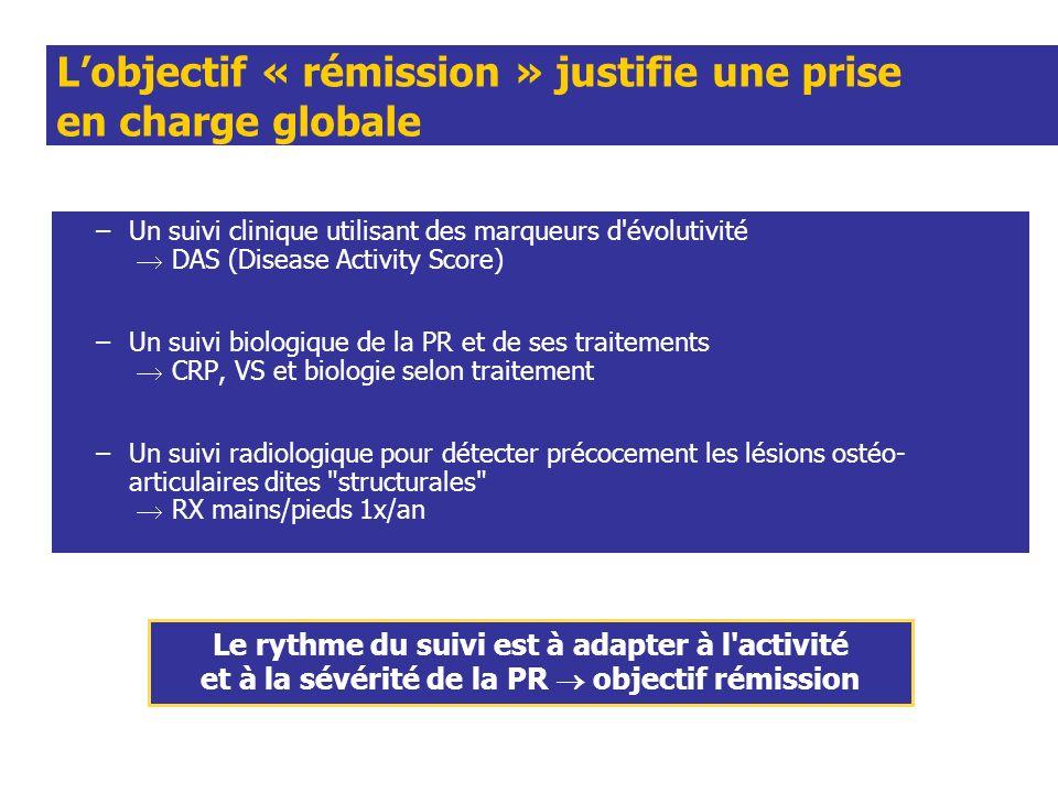 L'objectif « rémission » justifie une prise en charge globale