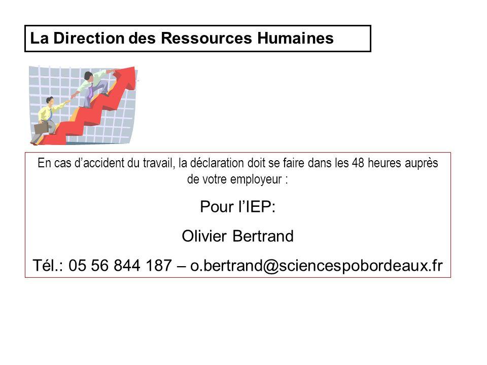 Tél.: 05 56 844 187 – o.bertrand@sciencespobordeaux.fr