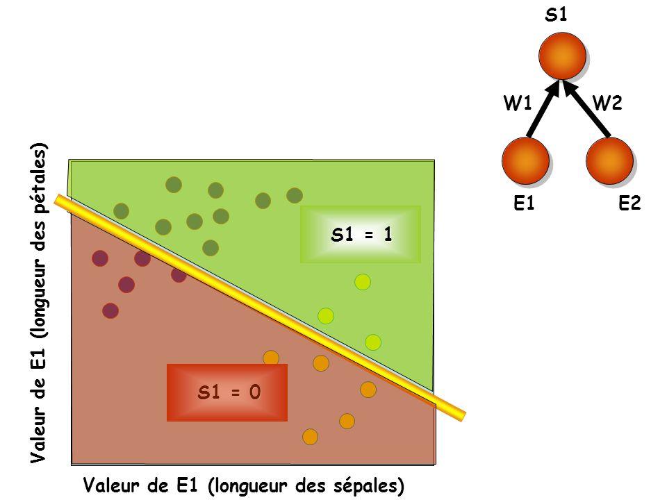 S1 E1. E2. W1. W2. S1 = 0. S1 = 1.