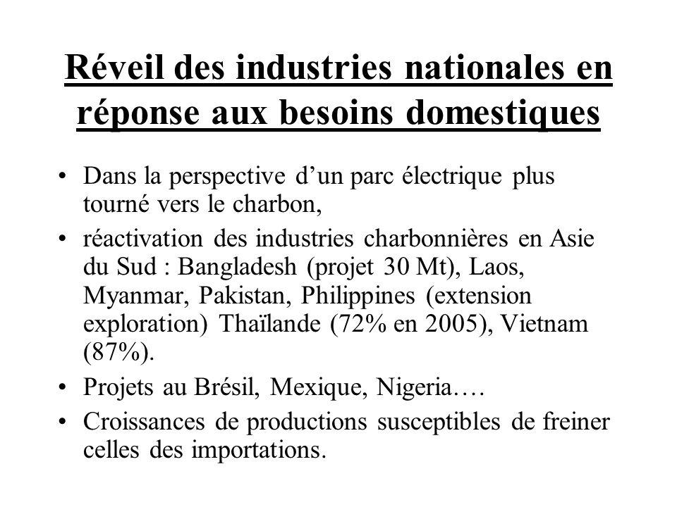 Réveil des industries nationales en réponse aux besoins domestiques