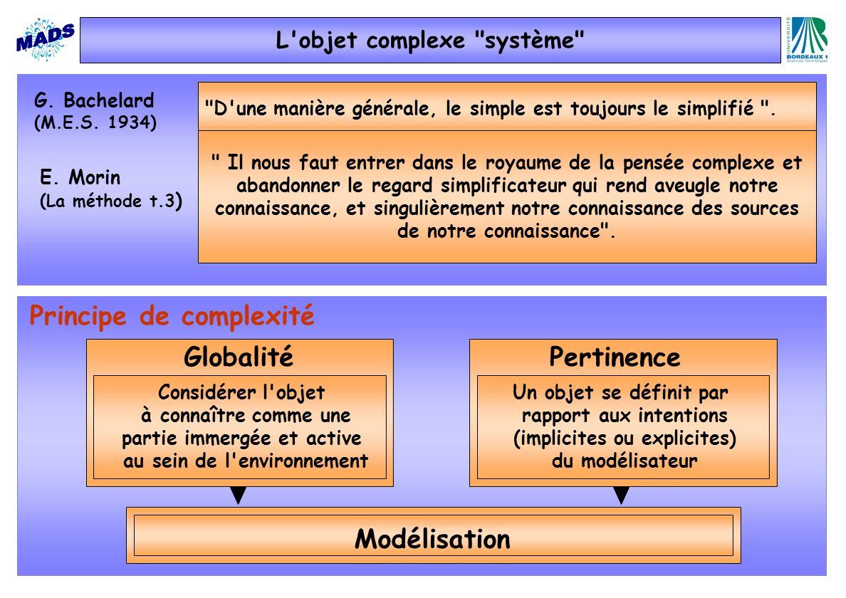 L objet complexe système