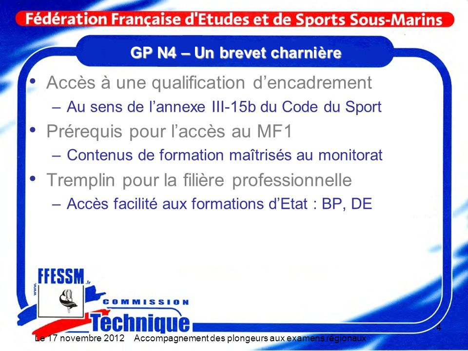 GP N4 – Un brevet charnière