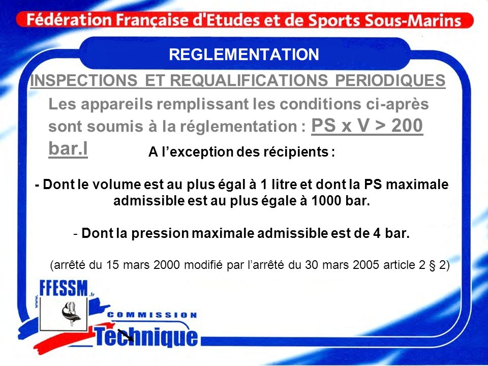 INSPECTIONS ET REQUALIFICATIONS PERIODIQUES