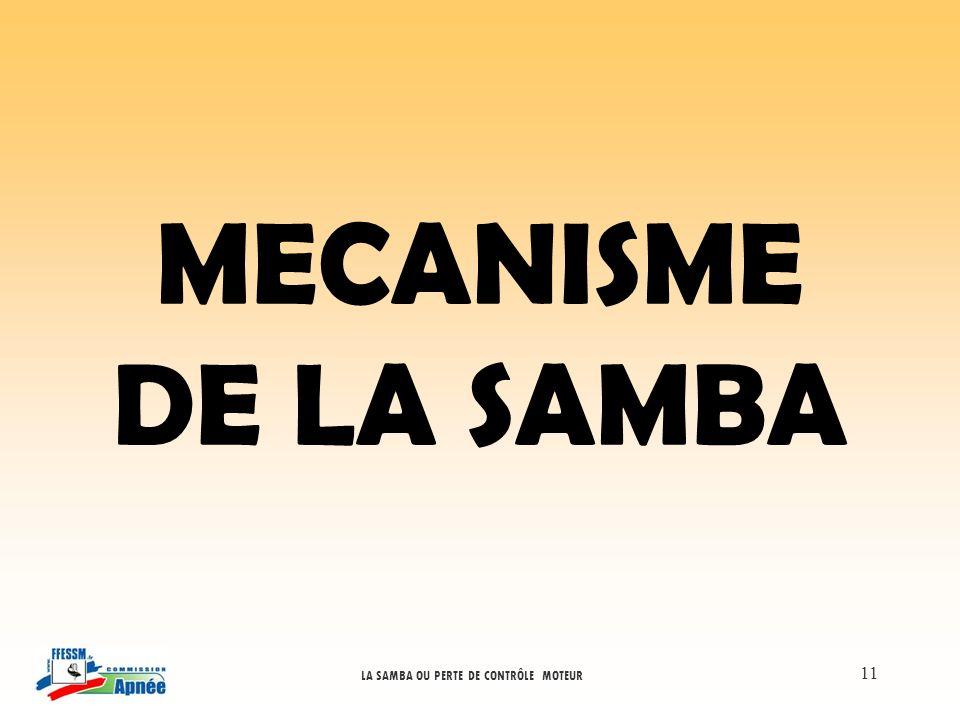 MECANISME DE LA SAMBA