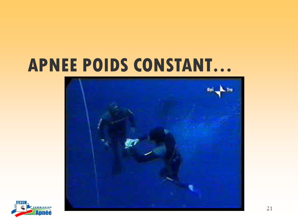 APNEE POIDS CONSTANT…