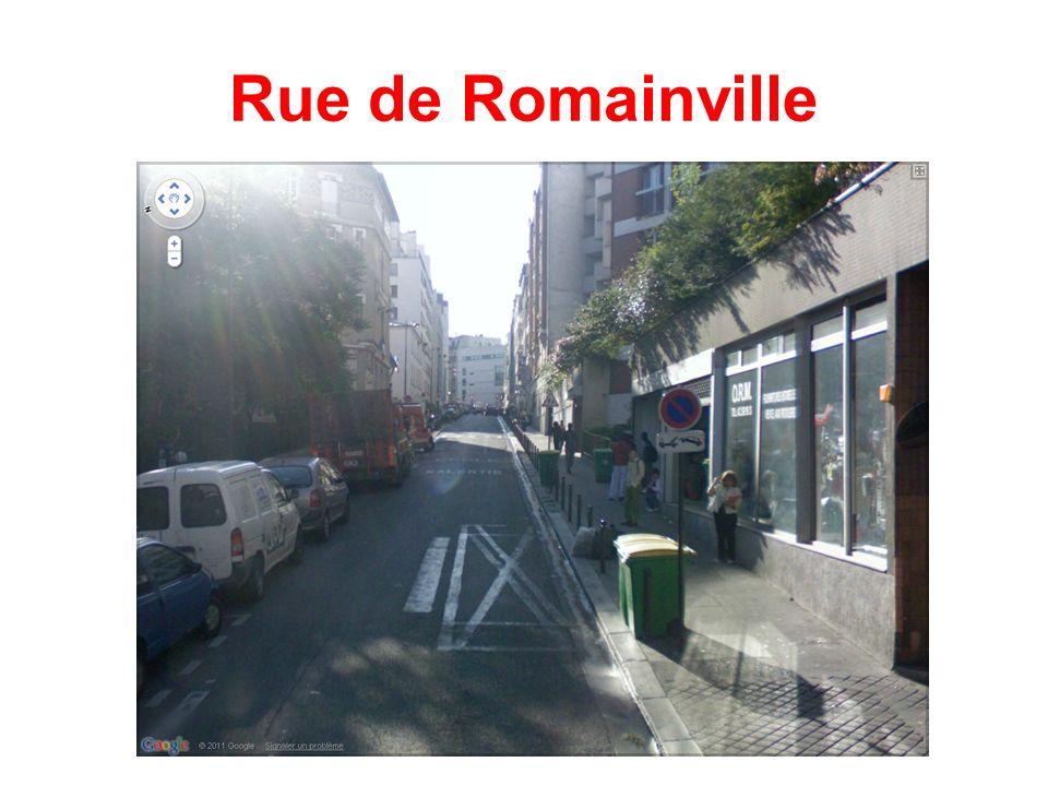Rue de Romainville
