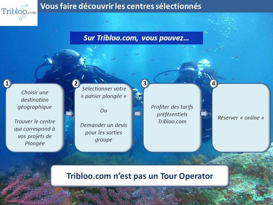 Sur Tribloo.com, vous pouvez… Tribloo.com n'est pas un Tour Operator