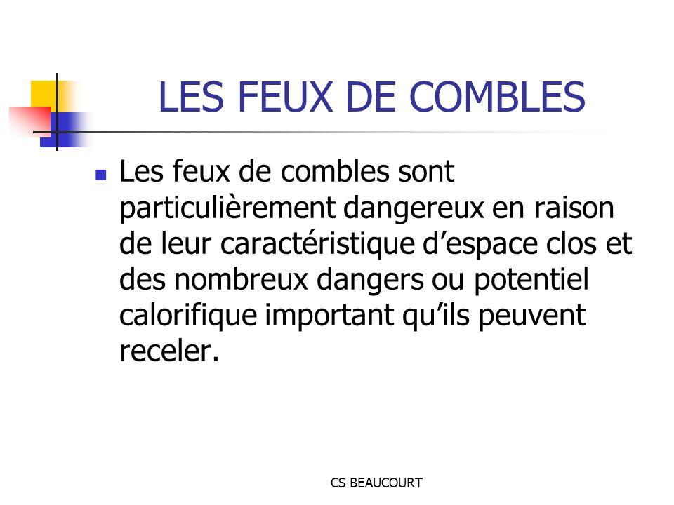 LES FEUX DE COMBLES